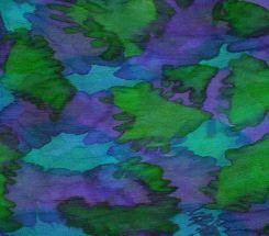 Turquoise, purple & lime